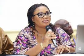 Mrs Charlotte Osei, EC Chair